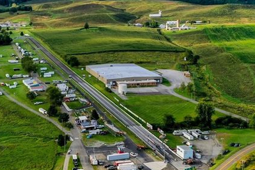 Picture of aerial view of elk creek dragway