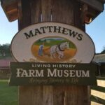 Picture of Matthews farm museum sign