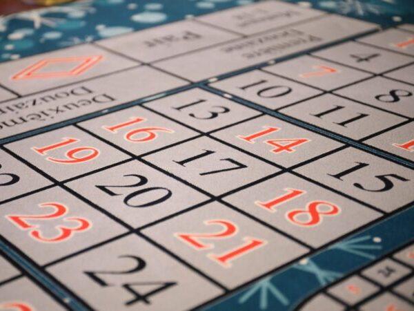 Picture of bingo card