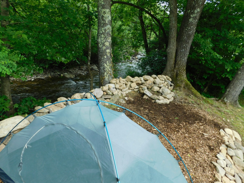 Picture of tent