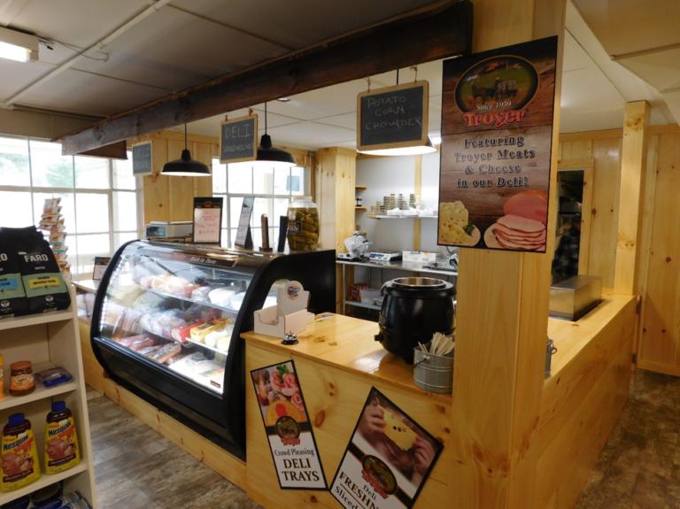 Picture of deli counter
