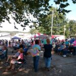 Picture of People at festival in Fries VA