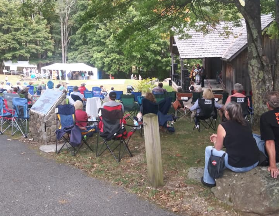 Crowd at Grayson Highlands Fall Festival