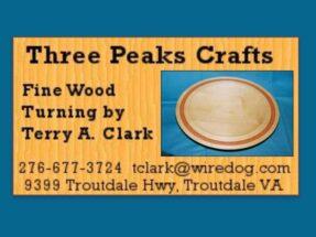 Three Peaks Crafts, Grayson County VA