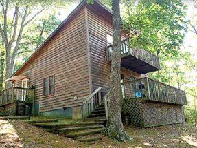 virginia vacation cabin